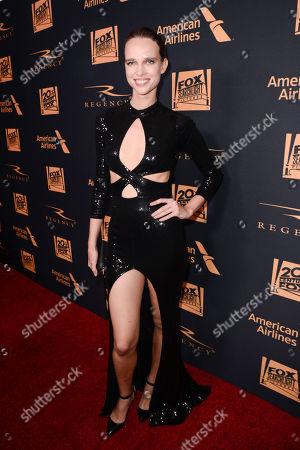 Masha Rudenko seen at Twentieth Century Fox Academy Awards Party at Hollywood Athletic Club, in Los Angeles, CA