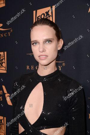 Stock Photo of Masha Rudenko seen at Twentieth Century Fox Academy Awards Party at Hollywood Athletic Club, in Los Angeles, CA
