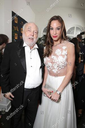 Andrew G. Vajna and Timea Palacsik seen at Twentieth Century Fox Academy Awards Party, in Los Angeles, CA