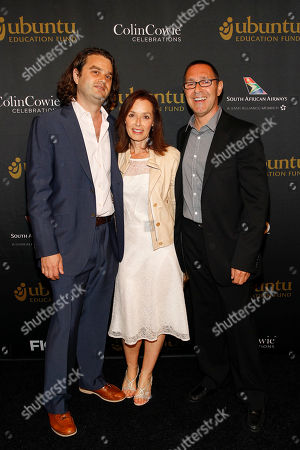 Founder and CEO of the Ubuntu Education Fund, Jacob Lief, honoree Janice Lipman, and Frank Lipman seen at the Ubuntu Education Fund 15 Year Anniversary NYC Gala at Gotham Hall on in New York City