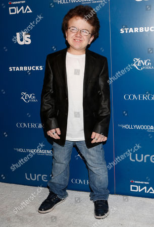 Keenan Cahill attends the US Weekly AMA After Party for The Wanted at Lure on in Los Angeles, California