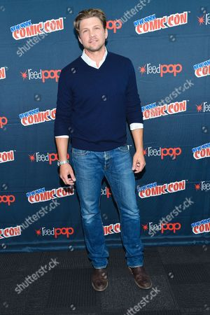 """Actor Marc Blucas is seen at WGN America's """"Underground"""" New York Comic Con, on in New York"""