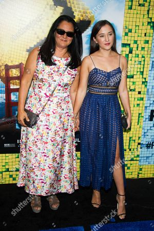 """Editorial image of World Premiere of """"Pixels"""", New York, USA"""
