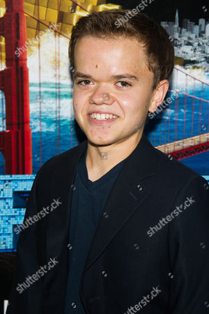 """Andrew Bambridge attends the world premiere of """"Pixels"""" at Regal E-Walk, in New York"""
