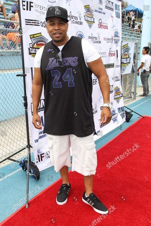 Actor Omar Gooding attends the 1st Annual Athletes vs. Cancer Celebrity Flag Football game at the Palisades High School on in Pacific Palisades, Calif