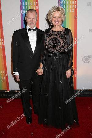 Stock Picture of William Moloney and Christine Ebersole attend the 2013 Kennedy Center Honors at the Kennedy Center for the Performing Arts on in Washington