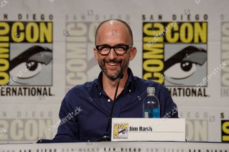 """Jim Rash attends the """"Mike Tyson's Mysteries"""" panel on Day 2 of Comic-Con International, in San Diego"""