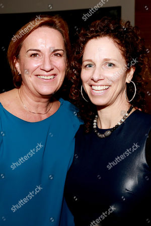 "Producers Karen Kehela-Sherwood and Kimberly Roth seen at Warner Bros. ""The Good Lie"" Premiere at 2014 TIFF, in Toronto"