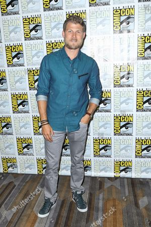 """Marissa Neitling Travis Van Winkle attends the """"The Last Ship"""" press line on day 1 of Comic-Con International, in San Diego"""