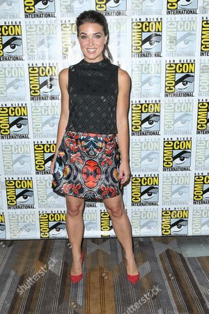 """Marissa Neitling attends the """"The Last Ship"""" press line on day 1 of Comic-Con International, in San Diego"""