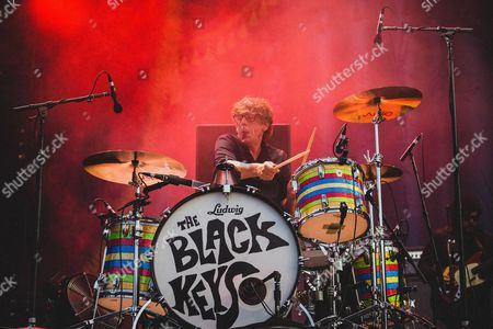 Patrick Carney of The Black Keys Performs at the 2015 Pemberton Music Festival on July 17th, 2015 in British Columbia, Canada