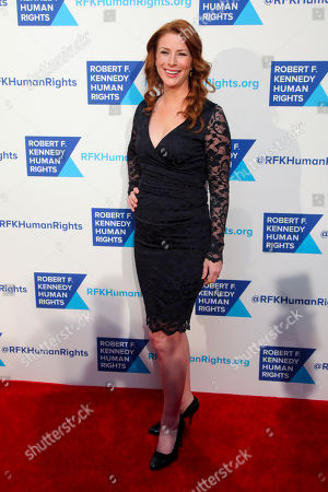 Diane Neal attends the 2015 Robert F. Kennedy Human Rights Ripple of Hope Awards at the New York Hilton Midtown, in New York
