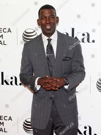 """Michael Finley attends the Tribeca Film Festival world premiere of """"Franny"""", in New York"""