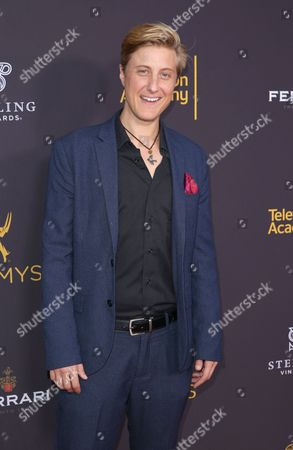 Scott Turner Schofield arrives at the 2016 Daytime Peer Group Celebration presented by the Television Academy at their Saban Media Center, in North Hollywood, Calif
