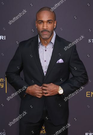 Donnell Turner arrives at the 2016 Daytime Peer Group Celebration presented by the Television Academy at their Saban Media Center, in North Hollywood, Calif