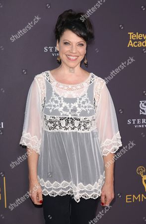 Stock Image of Kathleen Gati arrives at the 2016 Daytime Peer Group Celebration presented by the Television Academy at their Saban Media Center, in North Hollywood, Calif
