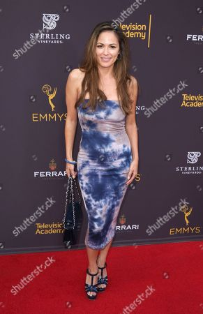 Terri Ivens arrives at the 2016 Daytime Peer Group Celebration presented by the Television Academy at their Saban Media Center, in North Hollywood, Calif