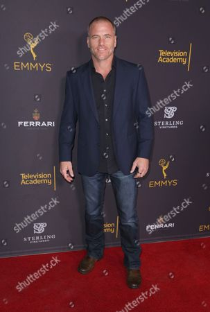 Sean Carrigan attends the 2016 Daytime Peer Group Celebration presented by the Television Academy at their Saban Media Center, in North Hollywood, Calif