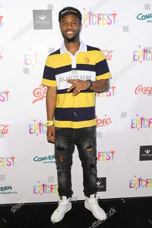 Casey Veggies attends 2016 EpicFest held at Sony Pictures Studios, in Culver City, Calif