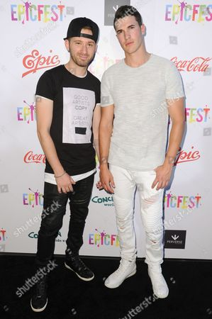 Rob Resnick, Cal Shapiro attend 2016 EpicFest held at Sony Pictures Studios, in Culver City, Calif