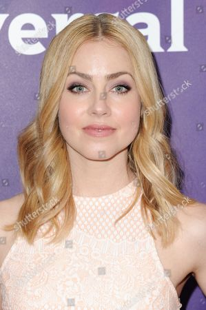 Amanda Schull attend the 2016 NBC Universal Summer Press Day held at the Four Seasons Hotel, in Westlake Village, Calif