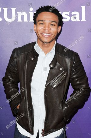 Robert Bailey Jr. attends the 2016 NBC Universal Summer Press Day held at the Four Seasons Hotel, in Westlake Village, Calif