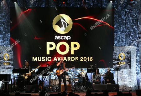 James the Human performs a medley of Max Martin songs at the 33rd annual ASCAP Pop Music Awards at the Dolby Ballroom, in Los Angeles
