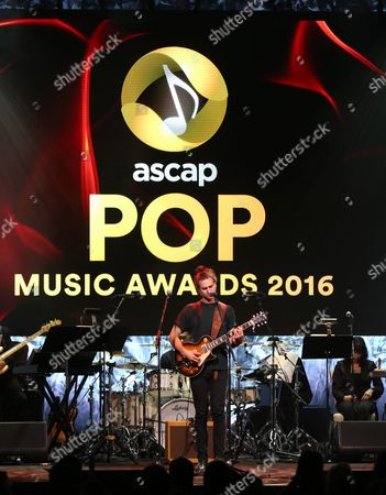 Editorial image of 33rd Annual ASCAP Pop Music Awards - Show, Los Angeles, USA