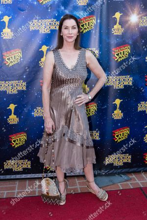 Caroline Williams arrives at The 42nd Annual Saturn Awards at the Castaway on Wednesday, June 22, in Burbank, Calif