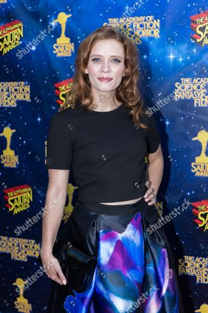 Lara Jean Chorostecki arrives at The 42nd Annual Saturn Awards at the Castaway on Wednesday, June 22, in Burbank, Calif