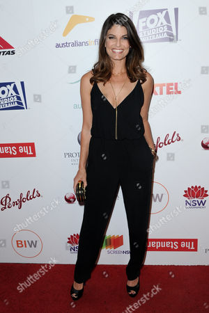 Zoe Ventoura attends the 5th Annual Australians in Film Awards held at NeueHouse Hollywood, in Los Angeles