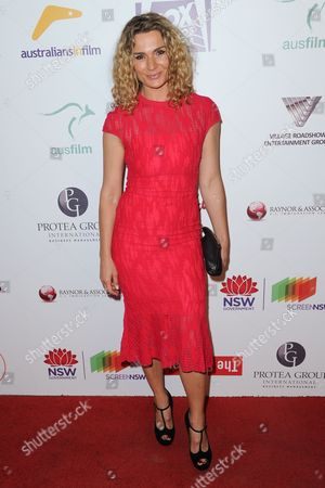 Danielle Cormack attends the 5th Annual Australians in Film Awards held at NeueHouse Hollywood, in Los Angeles