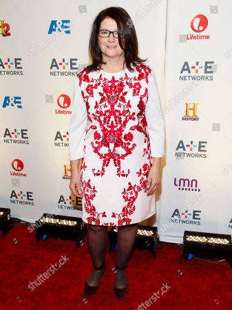 Stock Photo of Jana Bennett attends the A+E Networks 2015 Upfront at the Park Avenue Armory, in New York