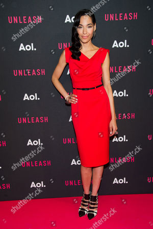 Stock Picture of Mari White attends the AOL NewFront 2015 at 4 World Trade Center, in New York