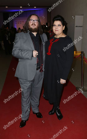 Directors Iain Forsyth and Jane Pollard arrive for the UK Gala Screening of '20,000 Days On Earth', a film by Nick Cave, at the Barbican Centre in central London