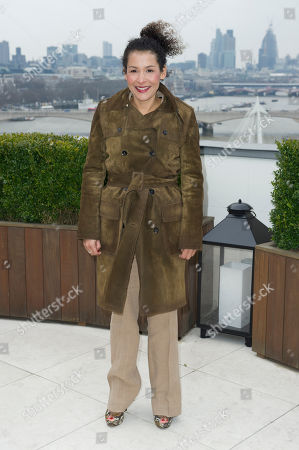 Mariane Pearl at the Chime For Change photocall at the Corinthia Hotel in London