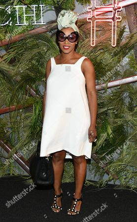June Ambrose attends the Coach Summer Party on the High Line, in New York