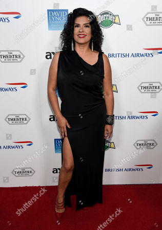 Rebekah Del Rio attends the David Lynch Foundation Music Celebration at the Theatre at Ace Hotel, in Los Angeles