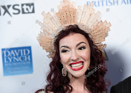 Chrysta Bell attends the David Lynch Foundation Music Celebration at the Theatre at Ace Hotel, in Los Angeles