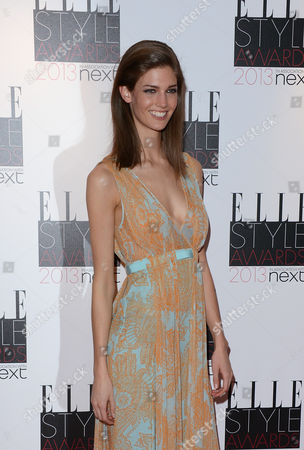 Kendra Spears seen at the ELLE Style Awards at the Savoy Hotel, in London