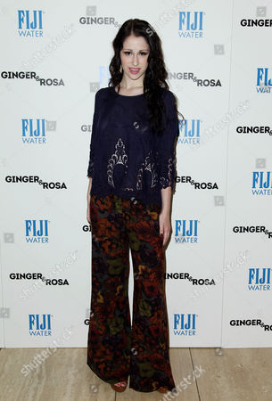 """Sarah Hackett attends a screening of """"Ginger and Rosa"""" hosted by FIJI Water on in Beverly Hills, Calif"""