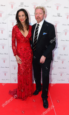 Boris Becker and Lily Becker at Gabrielle's Angels Foundation UK Gala in London on Thursday, May 2nd, 2013