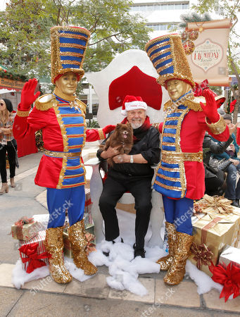 George Slaughter attends the Beverly Hills Holiday Bazaar, in Beverly Hills