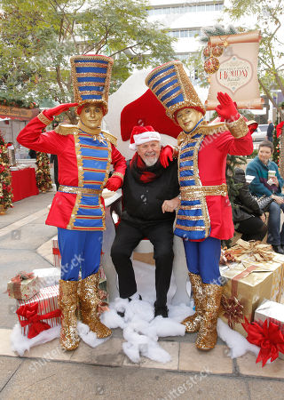 Editorial image of Holiday Bazaar, Beverly Hills, USA