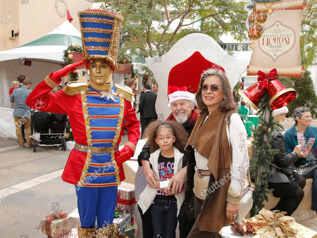 Editorial picture of Holiday Bazaar, Beverly Hills, USA