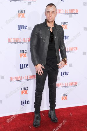 """Joey Lawrence attends the LA Premiere of """"'American Crime Story: The People v. O.J. Simpson"""" held at Westwood Village Theatre, in Los Angeles"""