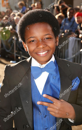 """Dusan Brown arrives at the LA premiere of """"42"""" at the TCL Chinese Theater on in Los Angeles"""