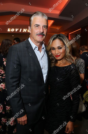 Chris Noth and Tara Wilson seen at the Los Angeles Premiere of Focus Features' LOVING after party at the Samuel Goldwyn Theater, in Beverly Hills, Calif