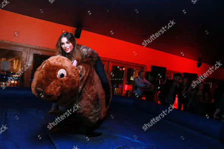 Stock Picture of Michelle Money at Moose Knuckles Presents Moose on The Loose at 2015 Sundance Film Festival, in Park City, Utah