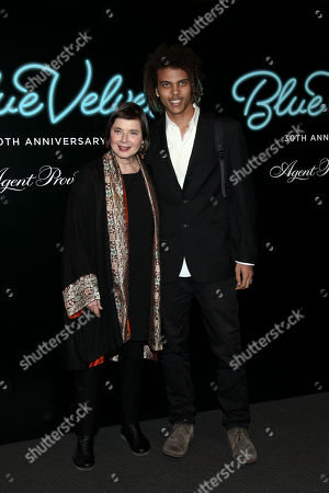 "Editorial picture of NY 30th Anniversary Screening of David Lynch's ""Blue Velvet"", New York, USA"